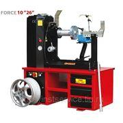"""Force 10""""-26"""" Стенд для правки стальных и литых дисков фотография"""