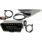 Универсальный Сканер Адаптер ELM 327 OBD II диагностика автомобиля USB фото