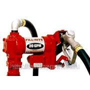 Насос FR4205DE (75л/мин, 12В, EX, Авиационное топливо, Керосин, Бензин, ДТ) фото