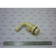 Соединительный адаптер HOSETAIL D.19 90° WITH RING NUT AND NIPPLE фото
