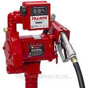 Насос для бензина,дт и др. FR705VEL (220В, 70 л/мин, со счетчиком) фото