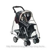 Чехол-дождевик на прогулочную коляску фото
