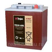Аккумуляторная батарея TROJAN TE35-GEL 6V 210А*ч Гелевая. фото