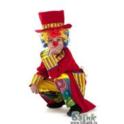 Прокат детского карнавального костюма «Клоун» фото