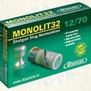 "Патр.(12х70)-пуля ""MONOLIT"" (32г) (DDUPLEKS) фото"