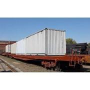 Вагон-платформа модель 13-7031Э2 фото