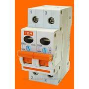 Выключатель нагрузки (мини-рубильник) ВН-32 2P 16A TDM фото