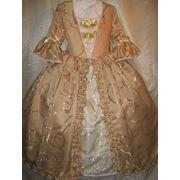 В прокат историческое платье, на девочку. фото