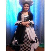 Прокат детского карнавального костюма «Шахматная Королева» фото