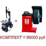 Комплект шиномонтажного оборудования Gt-200A и СБМК-60 фото