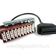 Lexia3 30 PIN to obd2 citroen cable фото