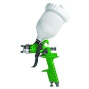 Краскораспылитель HVLP Ø1.3+1,7 с в/б (зеленый) sigma 6812121 фото