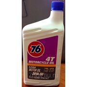 Моторное масло 76 4T Motorcycle Oil SAE 20W-50 фото