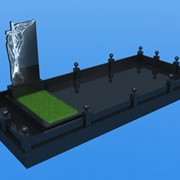 3D макет памятника фото