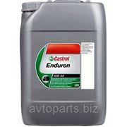 Моторное масло CASTROL Enduron 10W40 20л фото