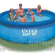 Надувной круглый бассейн Intex Intex Easy set 366*76 фото