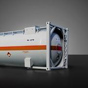 Контейнер-цистерна для перевозки сжиженных углеводородных газов КЦ-25/1,8, Вагоны грузовые железнодорожные цистерны для непищевых продуктов, Контейнеры-цистерны фото