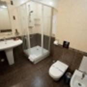 Количество основных мест в номере - 2, дополнительных мест - 1. Площадь номера - 32 кв. метра. фото