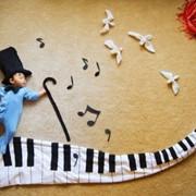 Занятия музыкой в детском саду г.Алматы фото