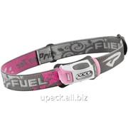Фонарь туристический налобный Fuel pink фото