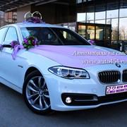 Новый автомобиль на свадьбу БМВ 530 фото