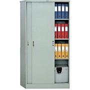 Шкаф-купе металлический архивный ШАМ-11.К фото