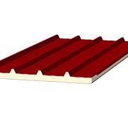 Кровельные сэндвич-панели из пенополистирола фото