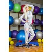 Спортивный костюм серый Код: 1086/АН фото
