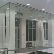 Двери цельностеклянные входные, межкомнатные и офисные фото
