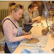 Занятия по керамике для будущих мам фото