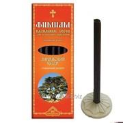 Кадильные свечи Ливанский кедр Артикул:023кадсв008 фото