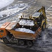 Очистка территории от снега и вывоз снега Киевское шоссе фото
