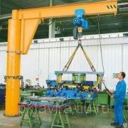 Кран консольный ручной г/п 0,125 т, вылет консоли 3 м, высота подъема 3 фото
