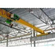 Кран мостовой электрический однобалочный г/п 5 т. пролет 4,5м. фото