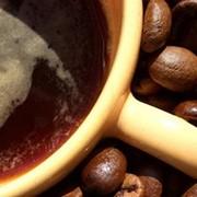 Кофе чёрный фото