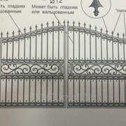 Ворота А00929 фото