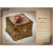 МК Натальи Родиной «Шкатулка в стиле VANILLE» фото