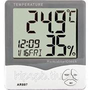 Индикатор температуры и влажности воздуха AR807 фото
