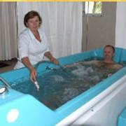Подводный душ-массаж. Санаторий МЕДОБОРЫ фото