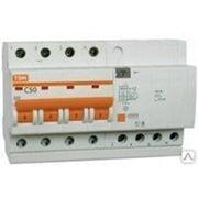 Автоматический выключатель АД 12 4Р 25А 30мА TDM фото