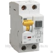 Автоматический выключатель дифференциального тока 1п+N 2мод.C 10A 30mA тип фото