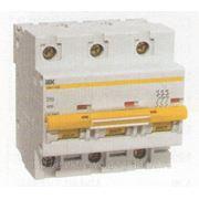 Автоматические выключатели серии ВА47-100 «ИЭК» разные фото