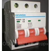 Автоматический выключатель HIBD63 3Р фото