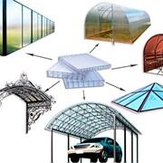 Сотовый поликарбонат от 3 до 10мм Доставка по всей области, Цветной и Прозрачный на складе. Размер 2,1х6м. Арт № 01-01-29 фото