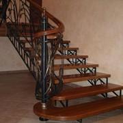 Лестницы кованые в Алматы фото