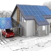 200 Вт солнечных панелей, 2кВт мощность инвертора , 2,4 кВт*ч запас энергии фото