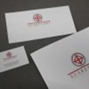 Фирменный стиль (папки, визитки, конверты) фото