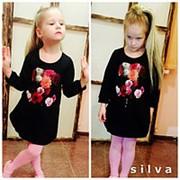 Платье для девочек Шанель цветочек фото
