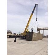Услуги автокрана 25-50-70 тонн строительной техники в алматы фото