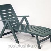 Лежак Smeraldo, - зеленый фото